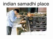 indian samadhi place
