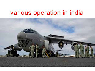 Indian special forces and indian military operation