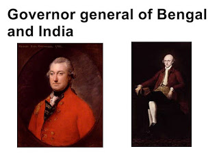 Governor general of Bengal and India