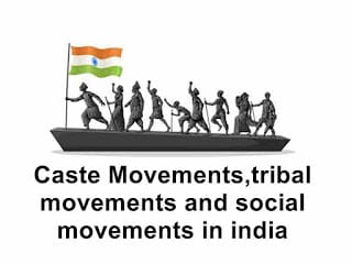 social protest movements in india and religious movements in india