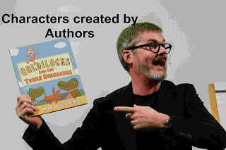 create a character by Authors important name gk