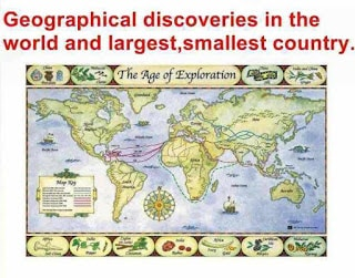 Geographical discoveries