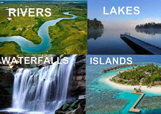 rivers of the world ,Lakes ,waterfalls, Islands list of the world.