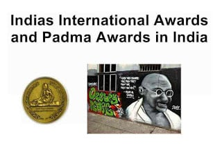 Indias International Awards in India