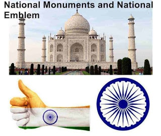 National Monuments and National Emblem