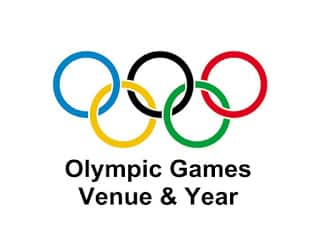 Olympic Games Venue and Year