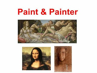 paint and painter