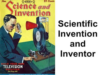 scientist and their inventions