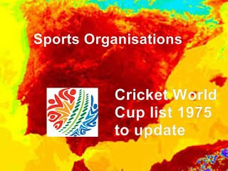 Cricket World Cup list
