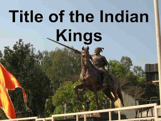 Indian King title in Indian history
