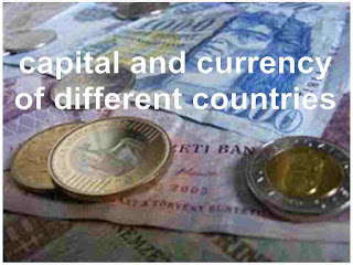 capital-and-currency-of-different-countries