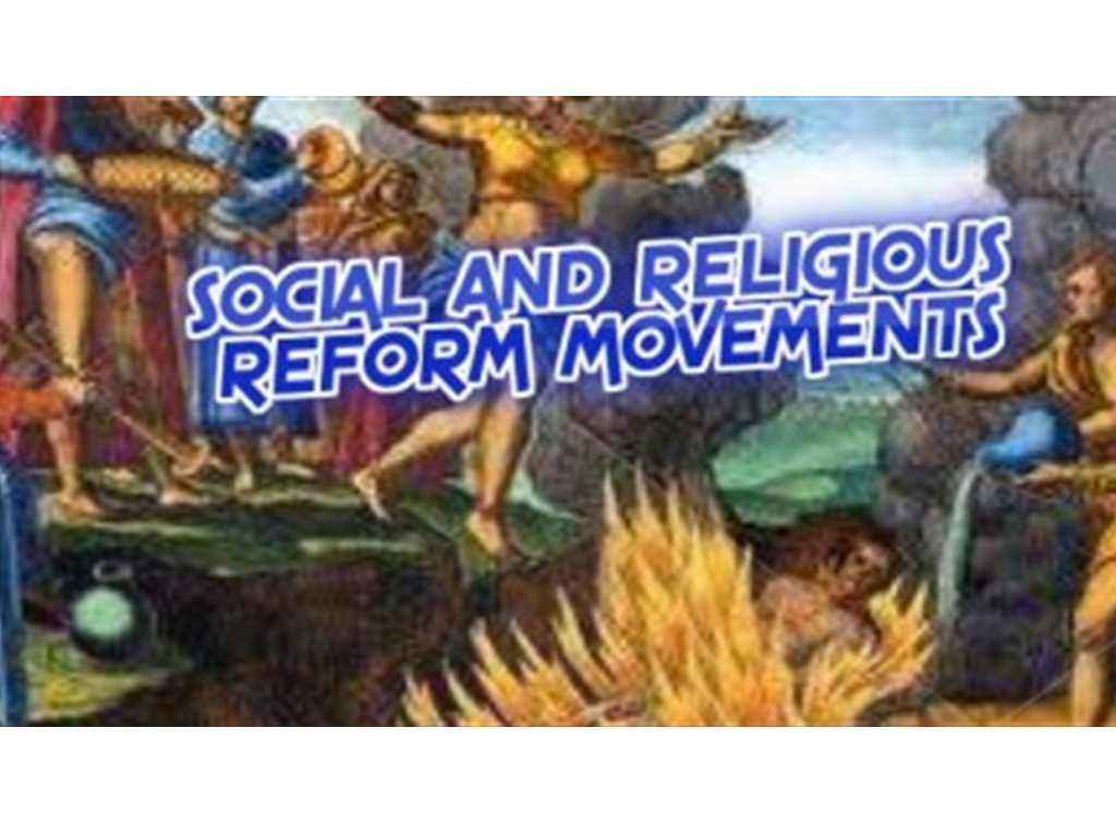 India Socio Religious Movements