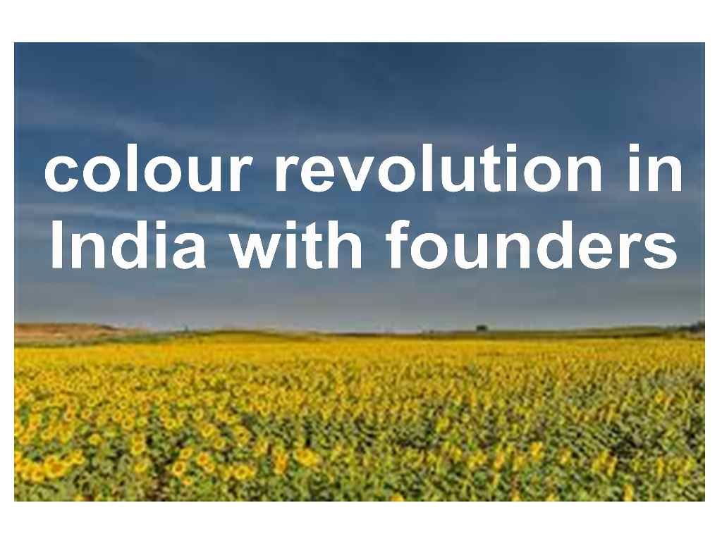 colour revolution in india