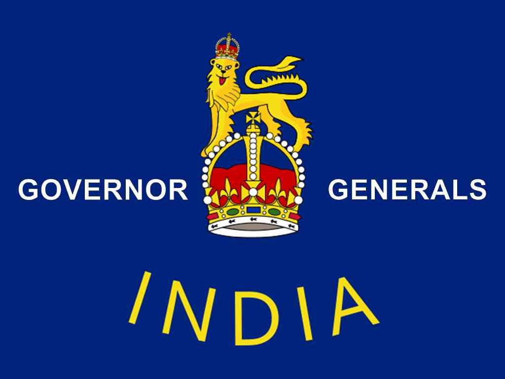 governor general of india 1833 to 1958