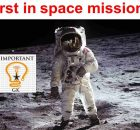 First in space missions