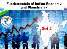 Fundamentals Indian Economy and Planning gk