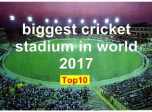 biggest cricket stadium in world