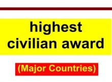 highest civilian award